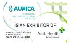 Join Aurica at Arab Health